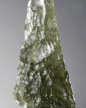 Moldavite Tear Drop Jewelry Shape Specimen (2.5grams)