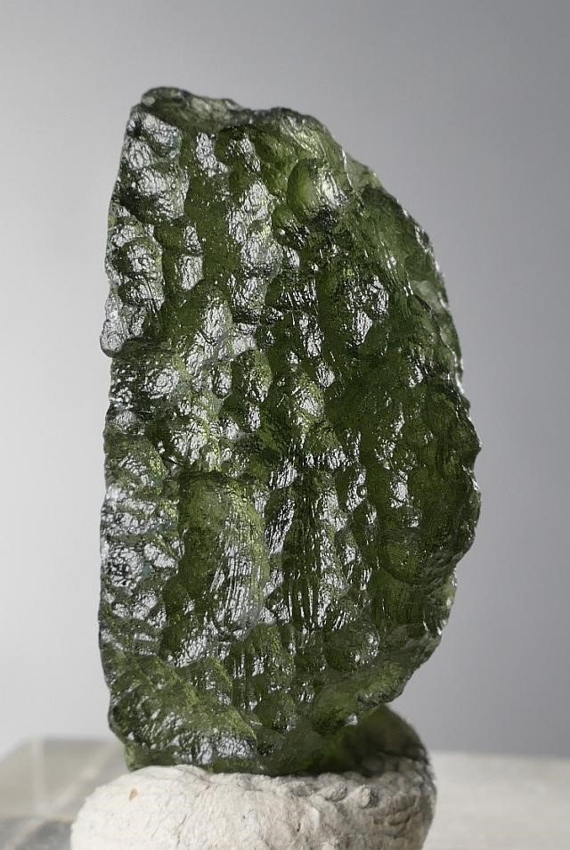 Jewelry Shape Specimen Moldavite with Certificate of Authenticity (3.3grams)