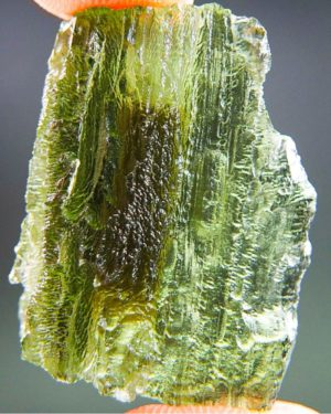 Quality A Bottle Green Moldavite with Certificate of Authenticity (5.72grams) 1