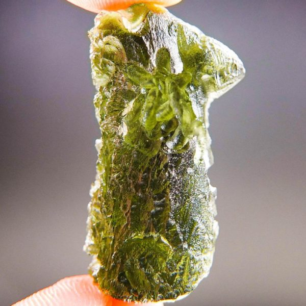 Quality A+/++ Raw Moldavite with Certificate of Authenticity (7.43grams) 1