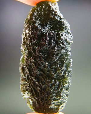Quality A Investment Moldavite with Certificate of Authenticity (26.96grams) 2
