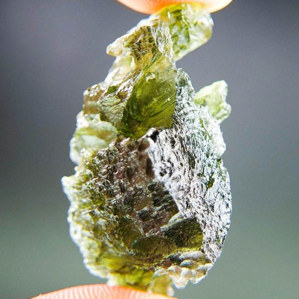 Quality A+ Rare Shape Moldavite with Certificate of Authenticity (7.62grams) 2