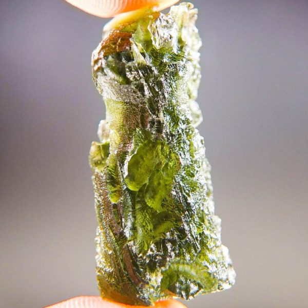 Quality A+/++ Raw Moldavite with Certificate of Authenticity (7.43grams) 3