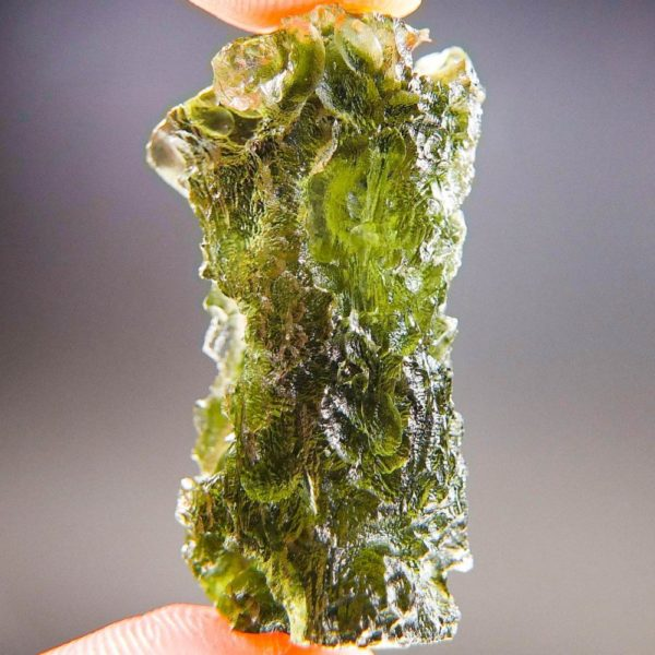 Quality A+/++ Raw Moldavite with Certificate of Authenticity (7.43grams) 4