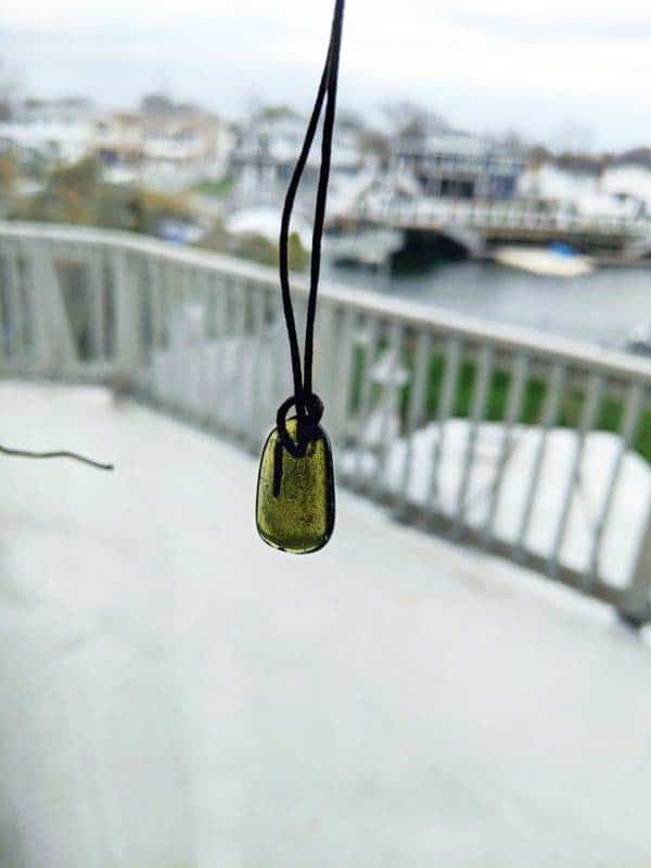 Moldavite Necklace Faceted Review